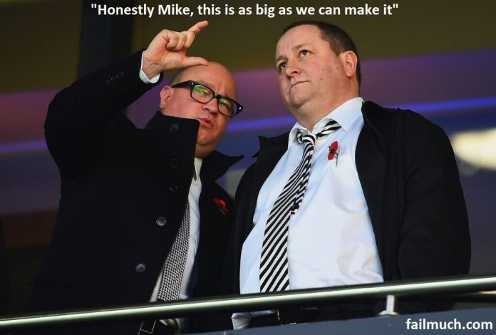 Mike Ashley To build statue plans