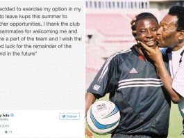 Freddy Adu leaving Finland