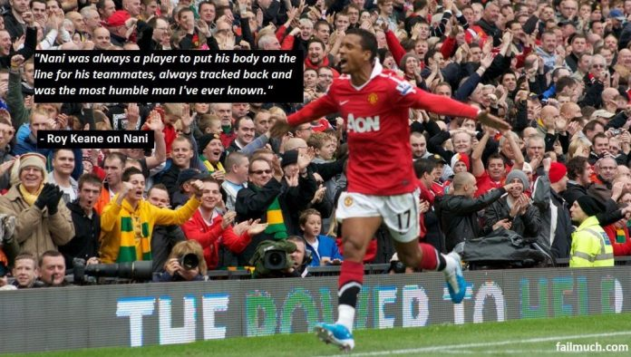 Roy Keane on Nani