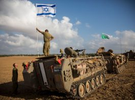 ISRAEL GOES ON THE OFFENSIVE