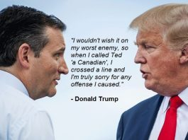 Trump apologizes to Ted Cruz for calling him Canadian It was disrespectful