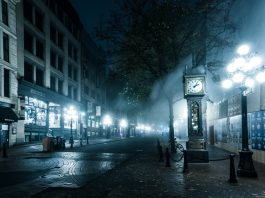 VPD: Steam Clock terrorist attack seems unlikely. | Photo credit: Colin Knowles