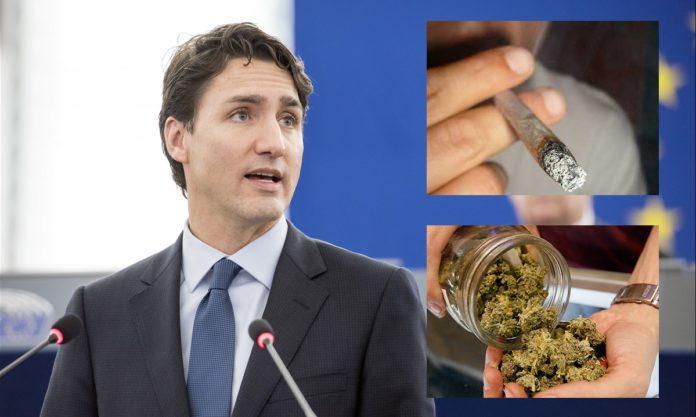 Trudeau stoned no more?