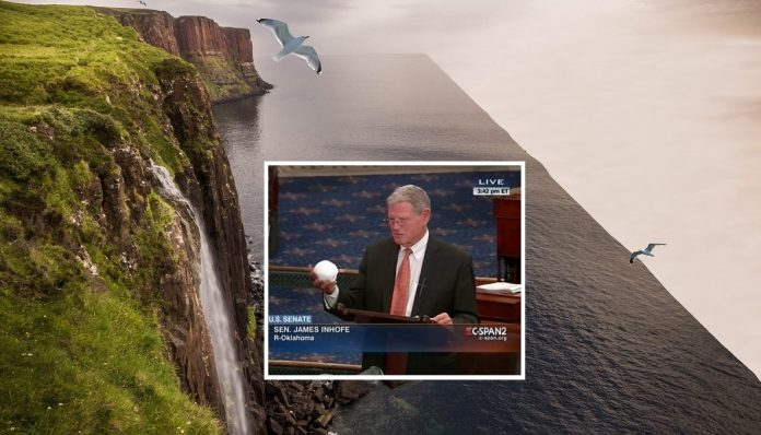 Climate Change Denying Senator Attacks Flat Earthers Over Faulty Science