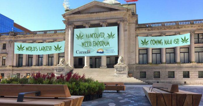 World's Largest Marijuana Emporium Set To Replace Vancouver Art Gallery