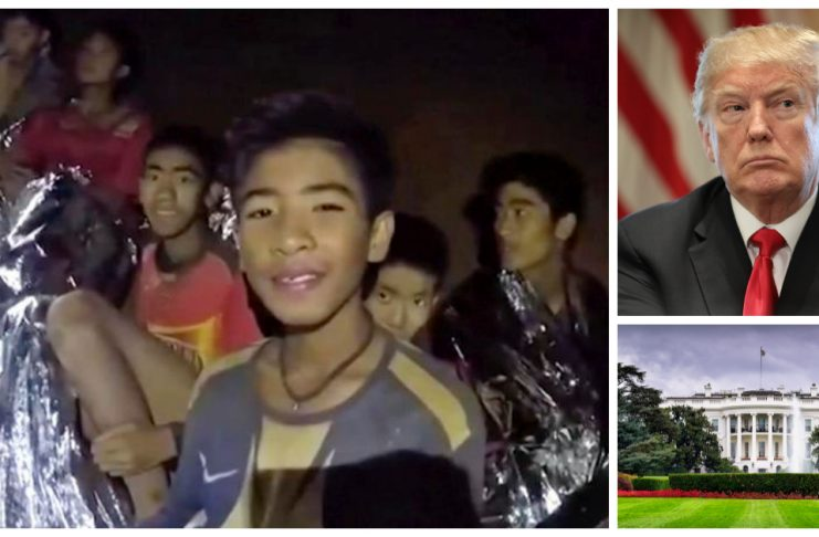 Trump Invites Thai Boys To Visit White House; Boys Request To Return To Cave