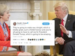 Trump Looking Forward To Knighthood From The Queen | Trump knighthood