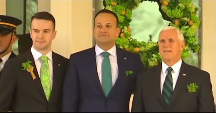 Mike Pence Takes 4-Hour Shower After Meeting Irish PM And Boyfriend | Mike Pence Irish PM and Boyfriend