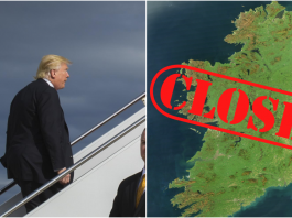 Trump Ireland visit Abandoned After Island Closes For Maintenance