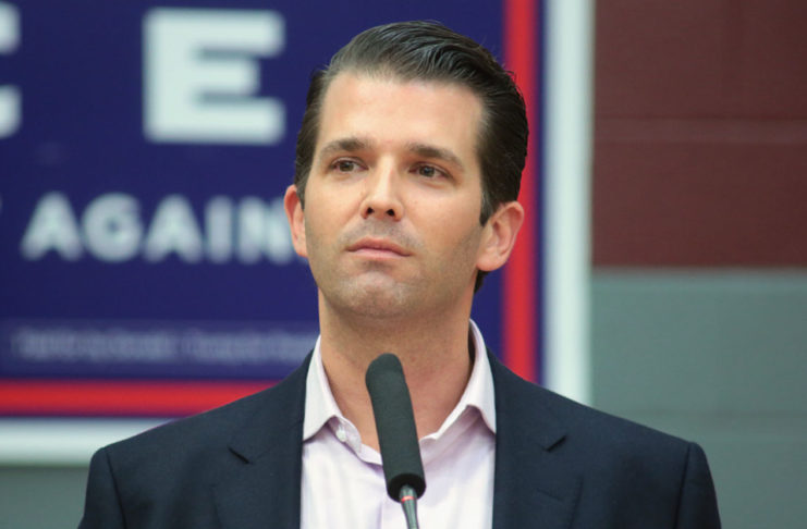 Donald Trump Jr. Tests Positive For Being A Dipshit